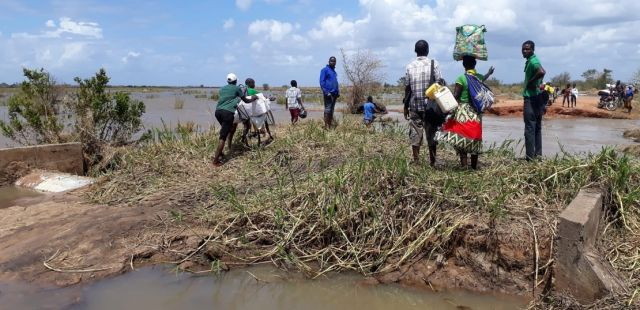 Harvests destroyed in Mozambique: HI will distribute essential food rations